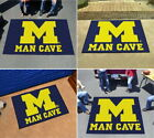 Michigan Wolverines Man Cave Area Rug Choose from 4 Sizes