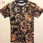 Neuf Populaire homme T-shirt Men's Comfy Leisure 3D Cotton Short Sleeve T-Shirts