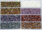 Pinch Beads Double Pyramids Glass Pearls 5x3 Mm 50 Pieces *Bacatus $1.46 USD