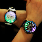 Mens Womens Fashion Silicone Luminous Light Sports Geneva Quartz Wristwatch NEW