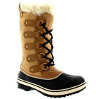 Womens Sorel Tofino Cate Winter Snow Rain Mid Calf Waterproof Duck Boots UK 3-9