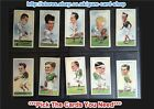 ☆ Wills - Rugby Internationals 1929 (F) *Pick The Cards You Need*