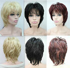 New full wig fluffy wave short women's wigs synthetic hair  3 color selection