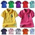 New boy girl shortsleeved  T-shirt Top size 2.3.4.5.6.7.8.9.10yrs cotton