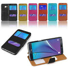 For Samsung Galaxy S6 Edge Plus Edge+ Dual View Window Flip Leather Case Cover