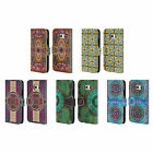 HEAD CASE ARABESQUE PATTERN LEATHER BOOK WALLET CASE COVER FOR SAMSUNG PHONES 1