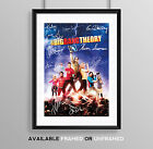 THE BIG BANG THEORY CAST SIGNED AUTOGRAPH PRINT POSTER PHOTO TV SHOW SERIES DVD