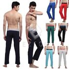 XL-M Sexy Men's Long Johns Modal Spandex Pants Underwear Stretch Pajamas CANK138