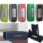 Leather Case Cover Protective Skin Fr Bose SoundLink Mini 2 II Speaker+Aux cable