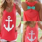 NEW SUMMER CASUAL LOOSE LADIES VEST TOP SEXY STRAPLESS LONG BLOUSE PLUS SIZE8-18