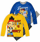 Boys Jake And The Neverland Pirates PJ Set Pyjamas Kids Disney Pyjamas Ages 3-6