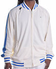 Rocawear Men's Vintage Track Jacket Full Zip Jacket