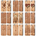 HEAD CASE LEGNARTE COVER IN LEGNO DI BAMBÙ PER APPLE iPHONE SAMSUNG PHONES