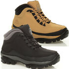 MENS LADIES LEATHER STEEL TOE CAP SAFETY WORK BOOTS LACE UP ANKLE HIGH TRAINERS