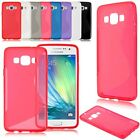 Fashion Soft S-line TPU Silicone Gel Back Cover Case Skin For Samsung Glaxy A3