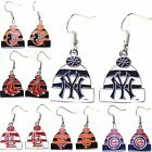 MLB Licensed Beanie Knit Hat Dangle Earrings - Pick Your Team on Ebay