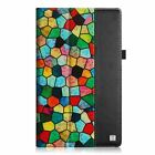 """Folio Stand Case PU Leather Cover for 10.1"""" Amazon Fire HD 10 Tablet Wake/Sleep"""