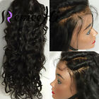 "130% Density Sexy Curly Wave Indian remy human hair lace full/front wigs 12""-24"""