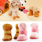 New Winter Small Dog Pet Puppy Shoes Chihuahua Boots Warm Snow shoes Size S-XXL