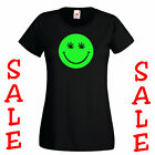 Sale T-Shirt New Smiley Face dope man Womens Ladies Fit Black S tshirts online