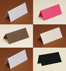 50 Table/Place cards 240gsm white, black, cream, ivory