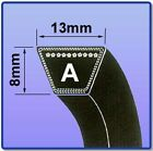 A SECTION V BELT SIZES A47 - A76 VEE BELT 13MM X 8MM FREE UK NEXT DAY DELIVERY