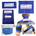 Reusable Hot Cold Gel Ice Pack Heat Therapy Wrap First Aid Kit Back Pain Relief on eBay