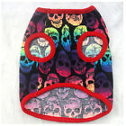 Special Pet Dog Skull Vest Puppy Small Cat T Shirt Clothes Costumes ST5