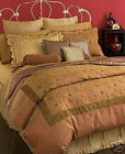 Charter Club COQUETTE GOLD LACE & BEADS EMBROIDERY OVERLAY F/q Duvet Cover $340