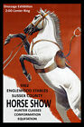 1962 Dressage Horse Show English Saddle Vintage Poster Repro FREE S/H in USA