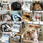 3D Animal Print Effected Mink Faux Fur Throw Fleece Blanket Soft Bed Sofa Couch