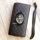 3D Unicorn phone Leather Pouch case Wallet Purse Card cover For HTC one M7 M8 M9