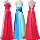 PLUS SIZE Long Formal Gown Party Evening Bridesmaid Prom Maxi Dress Oversize NEW