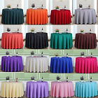 "Multi Color Dining Hotel Restaurant Round Tablecloth In Various Size 70""(180CM)"