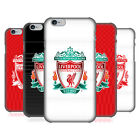 OFFICIAL LIVERPOOL FOOTBALL CLUB CREST DESIGNS BACK CASE FOR APPLE iPHONE PHONES