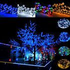 20-1000 LEDs Solar/Battery Power Fairy String Light Party Xmas Garden Outdoor UK