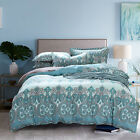 100% Combed Cotton Duvet Cover Set Queen King Made In Canada  #1604