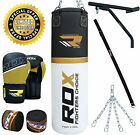 RDX Heavy Filled 4FT 5FT Punch Bag Set Boxing Gloves Bracket MMA Punching Mitts