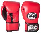 Cleto Reyes Hybrid Lace & Hook and Loop Boxing Gloves (Red)