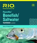 New Rio Fluoroflex Bonefish/Saltwater Leaders 10 foot 2 pack