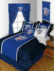 Oklahoma City Thunder Comforter and Pillowcase Twin Full Queen King Size