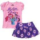 My little pony  toddler girls outfit  2 Piece Skort Set Sizes- 2T  NWT