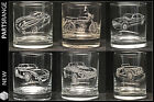 Glass Tumbler Rover V8 Cobra MG TVR SD1 Morgan FS1E Fizzy Bike Christmas Gift