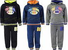 Boys Jogging Suits Baseball Tracksuit Top & Joggers Kids Clothes Ages 3-10 Years