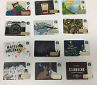 New 2015 STARBUCKS GIFT CARD Winter Collections Holiday Christmas Singles Set 1