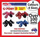 Dog Cat Shoes Red Blue Black Pink S,M,L,XL Boots Booties Paw Injury Bindis Puppy