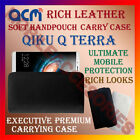 ACM-RICH LEATHER SOFT CASE for QIKU Q TERRA MOBILE HANDPOUCH COVER HOLDER LATEST