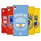 HEAD CASE DESIGNS FOOTBALL CREST HARD BACK CASE FOR SONY PHONES 2