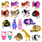 Foil Helium Balloon Walking Animal Balloons Pet Toy Party Birthday 18 Styles