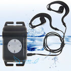 Waterproof Underwater Sport MP3 Player FM Radio For Swimming Surfing Diving SPA